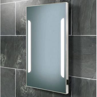 HIB Zenith Demistable Back Lit Mirror