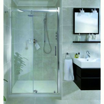 Aqata Spectra Sliding Shower Door SP300 (Recess)