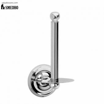 Smedbo Villa Spare Toilet Roll Holder