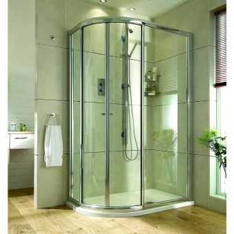 Aqata Exclusive Solutions Offset Quadrant Shower Enclosure ES360