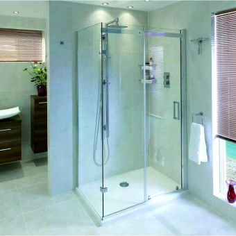 Aqata Spectra Sliding Door Shower Enclosure SP305 (Corner)