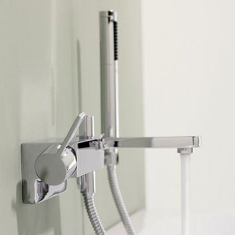 Dornbracht Lulu Wall Mounted Single Lever Bath Mixer with Shower Set