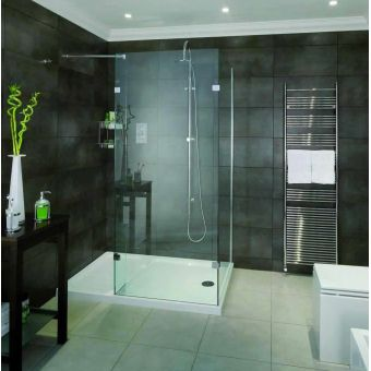 Aqata Spectra Walk-in Corner Shower Enclosure SP430