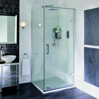 Aqata Spectra Hinged Shower Enclosure SP456 (Corner)