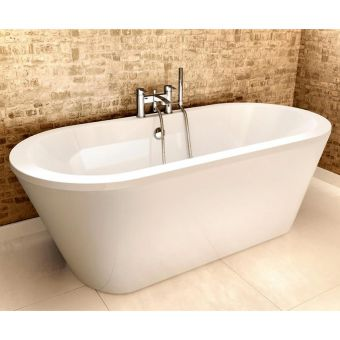 Cleargreen Freestark Double Ended Freestanding Acrylic Bath