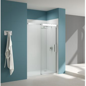 Sommer 10 Contemporary Sliding Shower Door