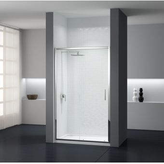 Sommer 8 Large Contemporary Sliding Shower Door