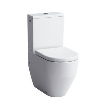 Laufen PRO Close Coupled Fully Back to Wall Toilet (Bottom inlet)