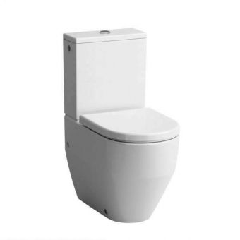 Laufen PRO Close Coupled Fully Back to Wall Toilet (Rear inlet)