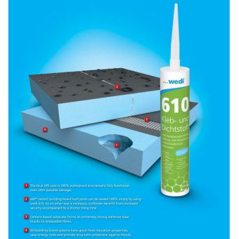 Wedi 610 Adhesive and Sealant