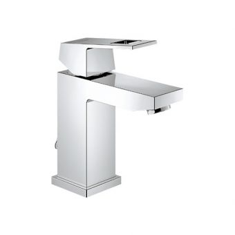 Grohe Eurocube Contemporary Basin Mixer Tap with Pop-up Waste