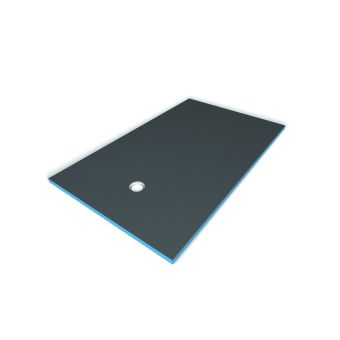 Wedi Fundo Primo Shower Base with Offset Waste