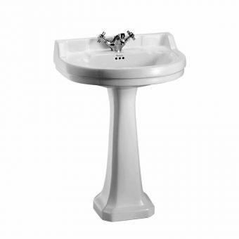 Burlington Edwardian 560mm Medium Round Basin
