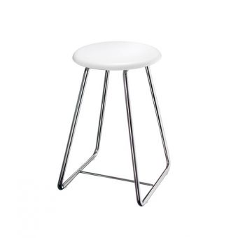 Smedbo Outline White Shower Stool FK403
