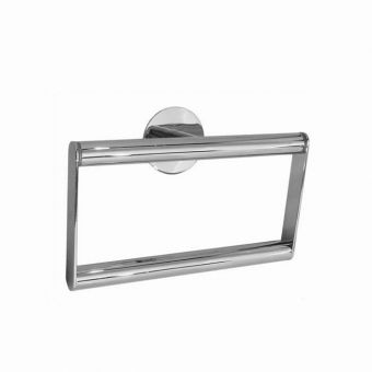 Smedbo Time Polished Chrome Towel Ring