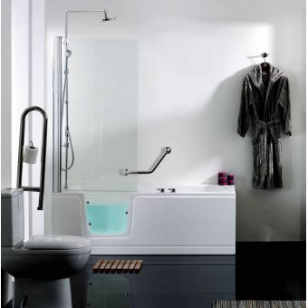 Phoenix Ambulant Comfort Walk-In Shower Bath Package