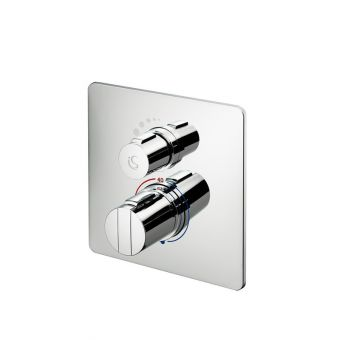 Ideal Standard Concept Easybox Slim Shower Valve with Square Faceplate