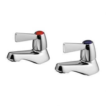 Armitage Shanks Alterna Quadrant Lever Handle Basin Taps