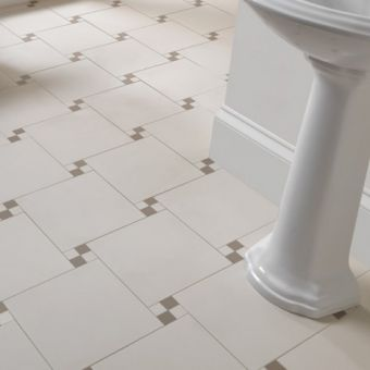 Imperial Tudor Mosaic Multi Colour Floor Tiles - 30 x 30cm
