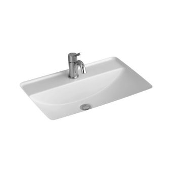 V&B Loop & Friends Rectangle Undercounter Basin with Tap hole