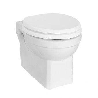 Burlington 500mm Wall Hung Toilet Suite