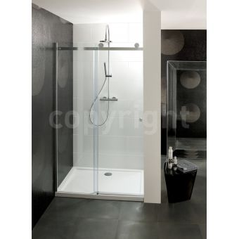 Simpsons Central Single Sliding Door Shower Enclosure