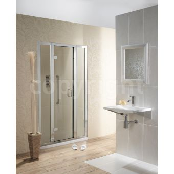 Simpsons Classic Frameless Inline Shower Door