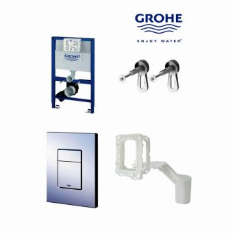 Grohe Rapid SL 4 In 1 Fresh Toilet Frame Pack - 38885000