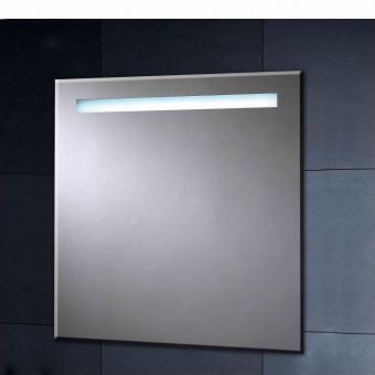 Phoenix Illuminated Heated Mirror with Shaver Socket 600mm