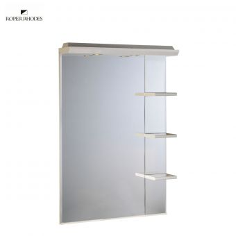 Roper Rhodes Valencia 700mm Mirror with Light Canopy