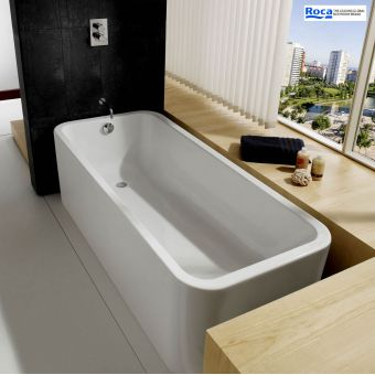 Roca Elements 1800 x 800mm Luxury Acrylic Bath