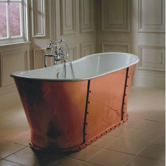 Imperial Baglioni Cobra Cast Iron Bath