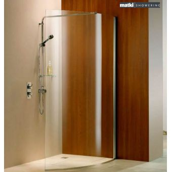 Matki Curved Wet Room Shower Panel