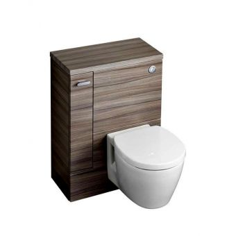 Ideal Standard Concept Space Left Hand WC Unit with Storage Cupboard   Bathroom Furniture Including Vanity. Toilet Cupboard