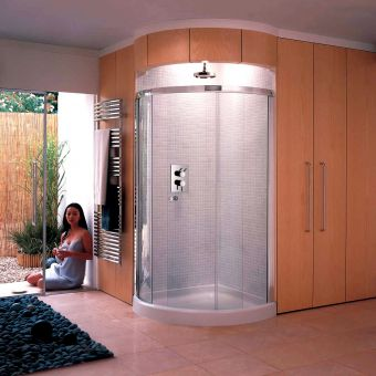 Matki Radiance Curved Corner Shower Enclosure