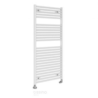 Mere Hugo2 Towel Drying Radiator - Gloss White