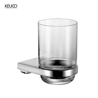 Keuco Moll Glass Tumbler with Holder