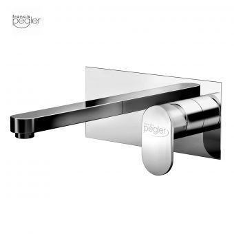 Pegler Strata Blade wall mounted Basin Mixer