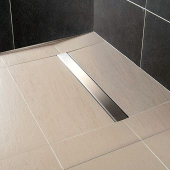 Wet Room Flooring Including Shower Drains Wall Panels
