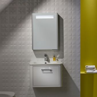 Roper Rhodes Moment 600mm Wall Mounted Unit & Basin