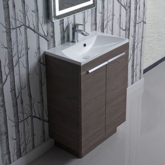 Roper Rhodes Cypher 600mm Freestanding Unit with Isocast Basin