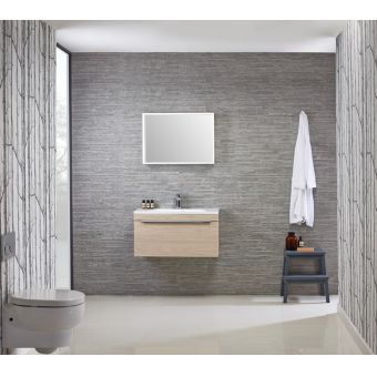 Roper Rhodes Cypher 800mm Wall Hung Unit & Isocast Basin