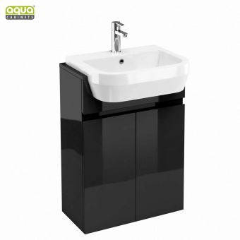 Aqua Cabinets D300 Semi-recessed Basin Unit