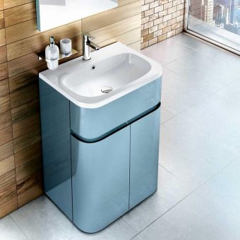 Aqua Cabinets D450 Gull Wing Cabinet with Basin