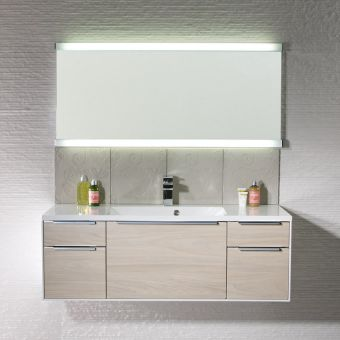 Roper Rhodes Transcend Illuminated Bathroom Mirror
