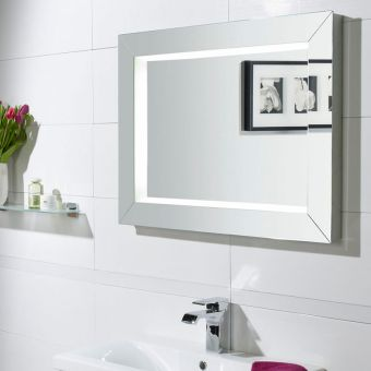 Roper Rhodes Sense Illuminated Bathroom Mirror