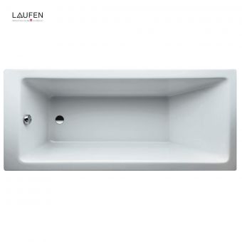 Laufen PRO Rectangular Acrylic Single Ended Bath