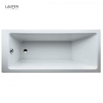 Laufen PRO Rectangular Acrylic Single Ended Bath - 230950WH