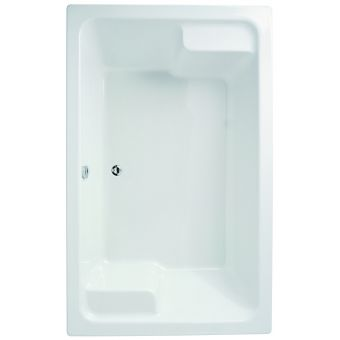 Adamsez Grenada Large Inset Double Ended Bath