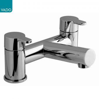 Vado Sense Deck Mounted 2 Hole Bath Filler